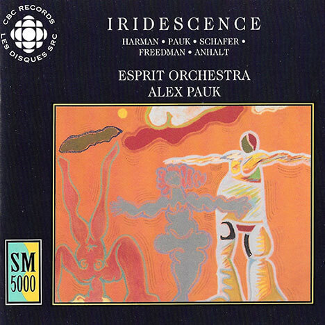 Iridescense - Contemporary Canadian Orchestral Works Cover