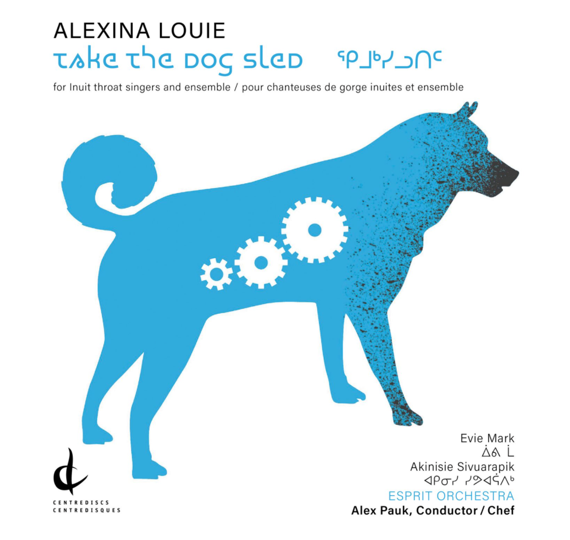 Alexina Louie | Take The Dog Sled Cover